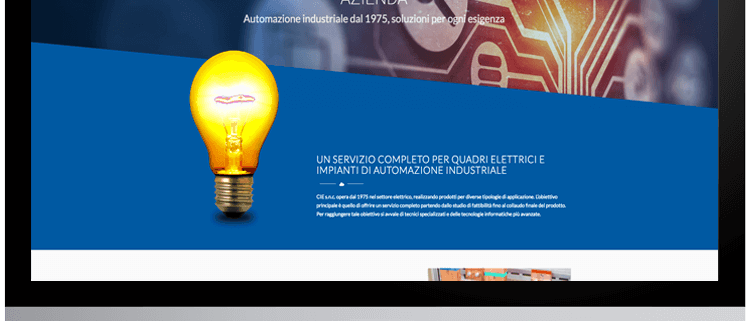 nuovo sito web cie italia