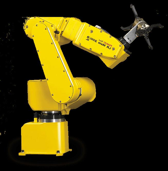 robot giallo automazione industriale