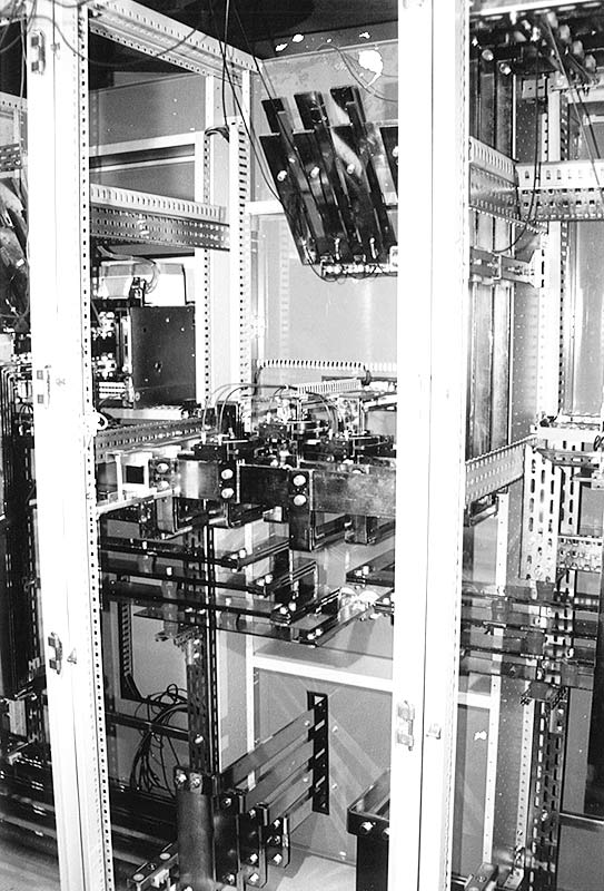 Switchboard inner part of a power centre supplied to a chemical plant.