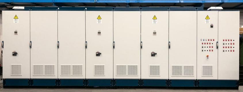 Quadro di distribuzione da 3 MW
